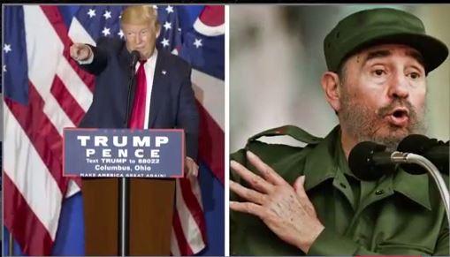 Donald Trump: Fidel Castro is dead!