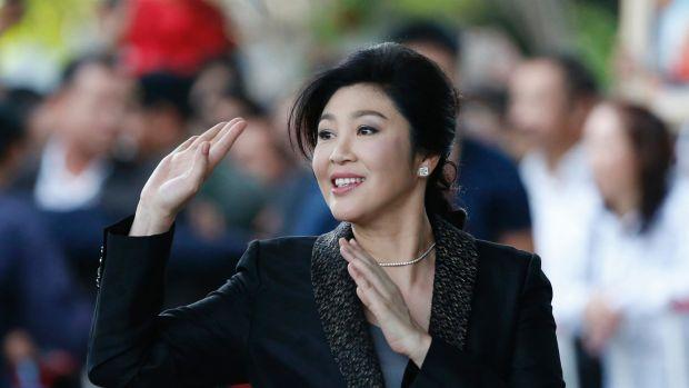 Thai former PM Yingluck flees to Dubai