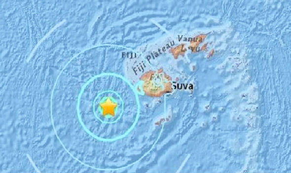 7.8 magnitude earthquake hits Fiji