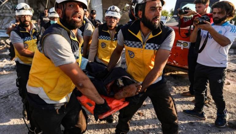 Rockets kill 6 civilians in Syria