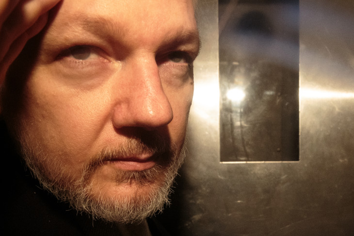 Julian Assange sentenced to 50 weeks in British prison