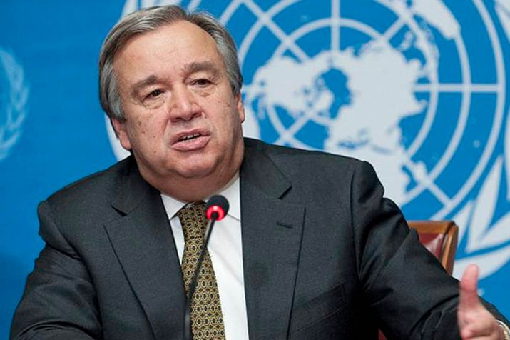 India and Pakistan should engage in a meaningful dialogue to resolve their issues: Antonio Guterres