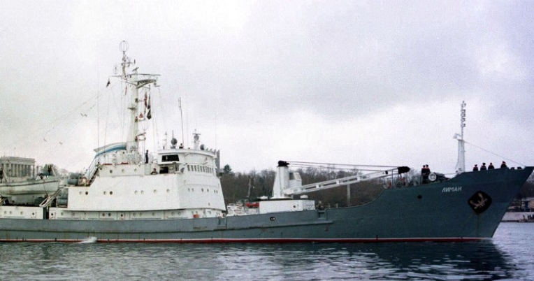 Russian spy ship sinks off Turkey after collision with freighter