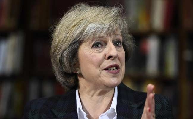 British PM May urges Qatar, Saudi and Bahrain to ease Gulf tensions
