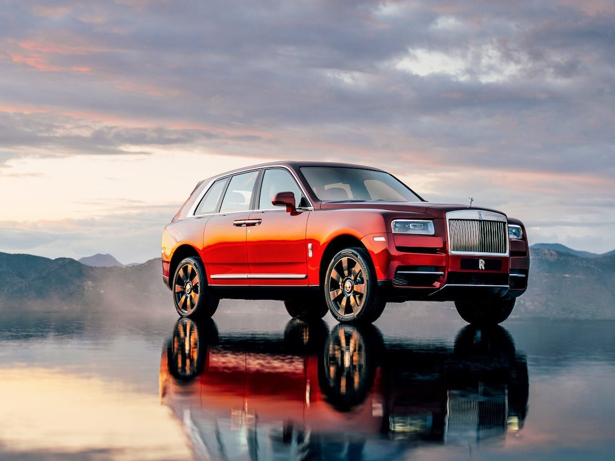 The $325,0000 Rolls-Royce Cullinan has arrived and it