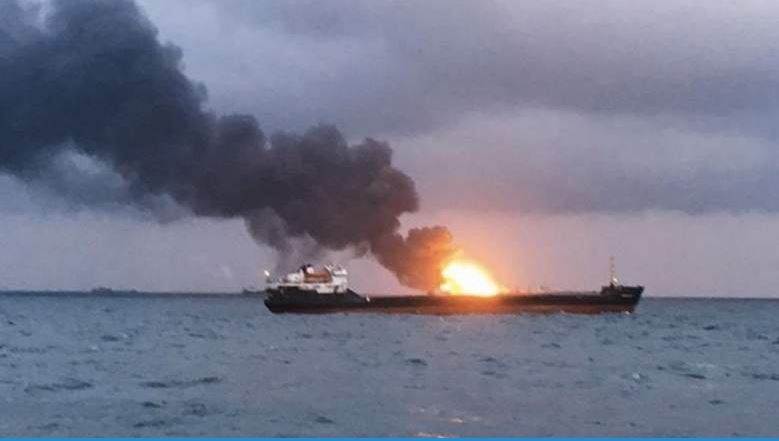 14 dead as ships with Indian, Turkish crews catch fire off Russia