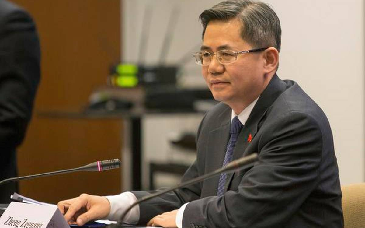 Chinese ambassador to UK barred from attending British Parliament