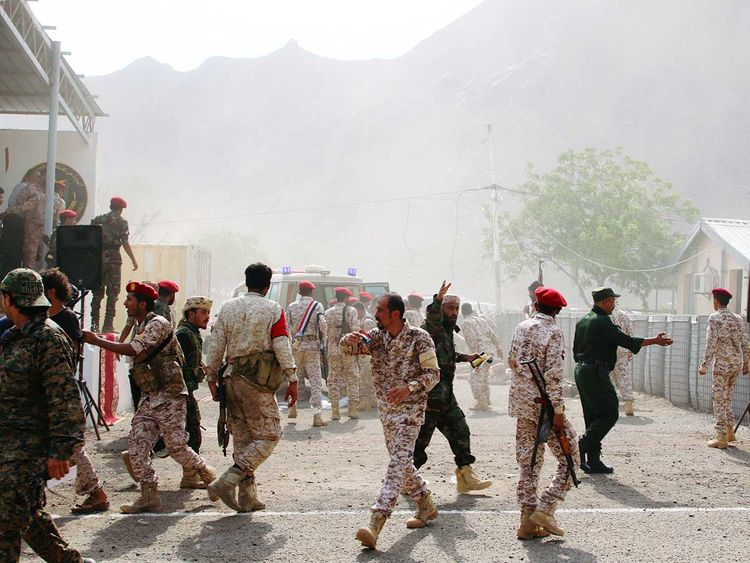 At least 40 killed in Yemen military parade attack