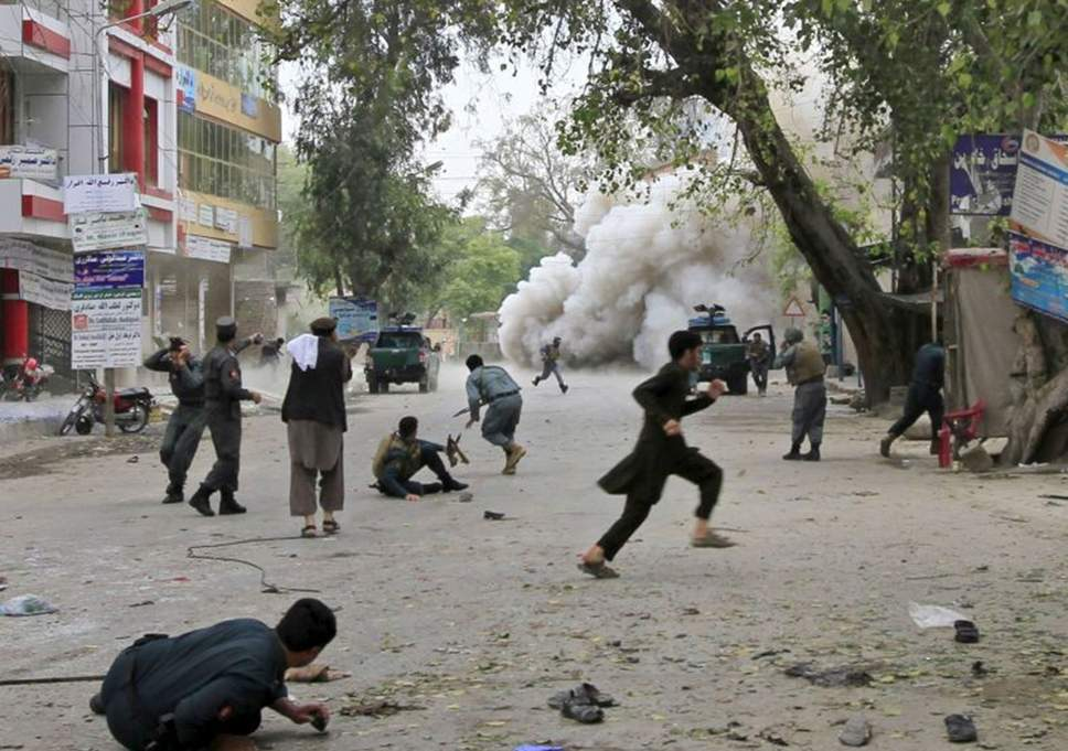 18 people killed in suicide attack in Afghanistan