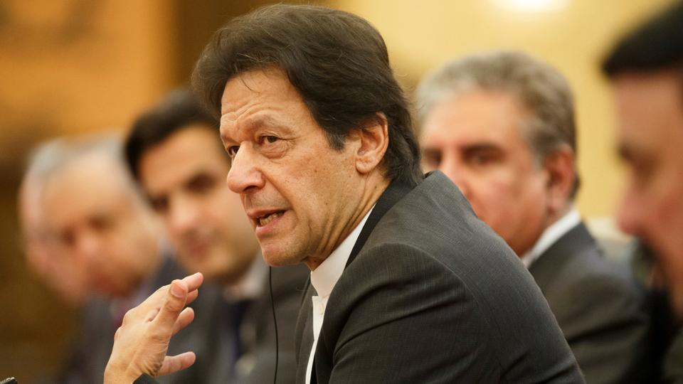 Pakistan PM Khan faces protests by religious and ethnic minorities during first US visit