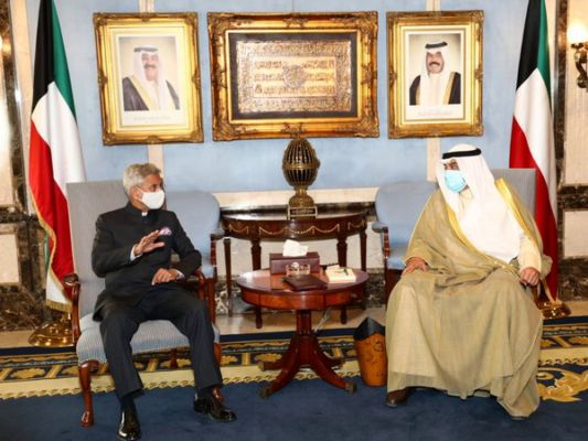 Jaishankar interacts with Indian community in Kuwait, says visit focuses on finding new areas of cooperation