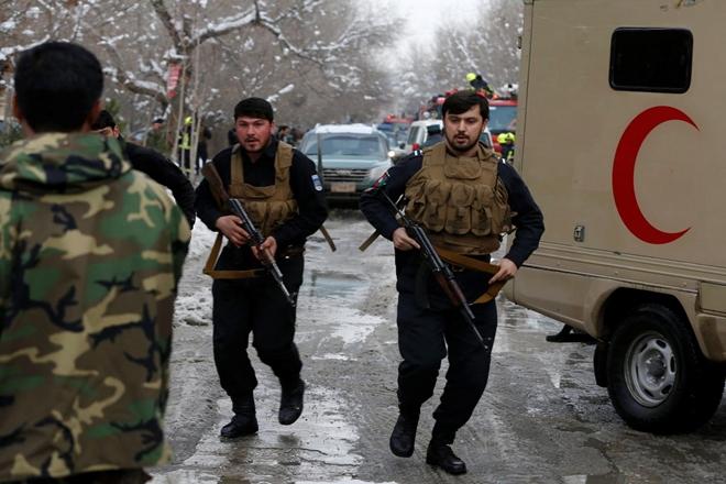 Five Islamic State militants killed in Afghan air raids