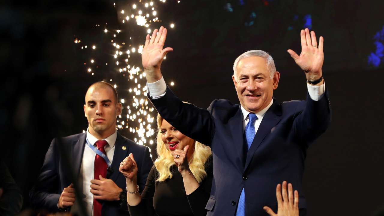 Benjamin Netanyahu projected to win Israeli election: media