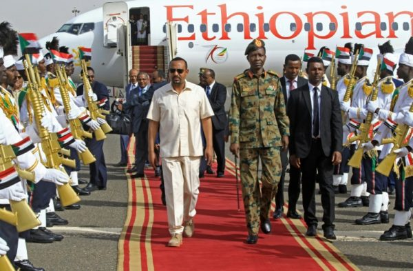 Ethiopian PM in Sudan to revive democracy talks