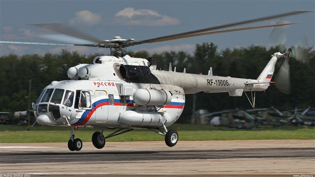 Russian copter crashes in Siberia, 19 passengers feared dead