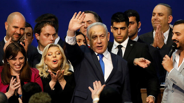 israel:netanyahuslikudleadsin3rdelectioninyear