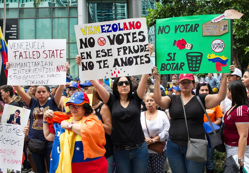 United States offers temporary legal residency to Venezuelans