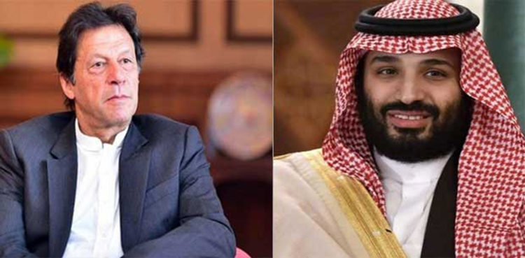 Saudi Crown Prince calls up Pakistan PM Imran Khan over Kashmir