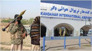 Taliban fighters struck Kandahar Airport in southern Afghanistan