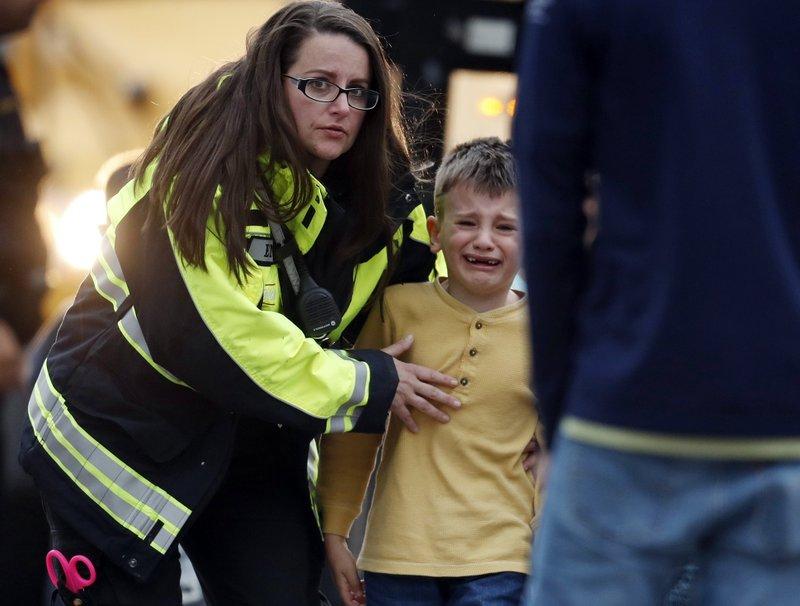 1 dead, 8 hurt in Colorado school shooting, 2 in custody