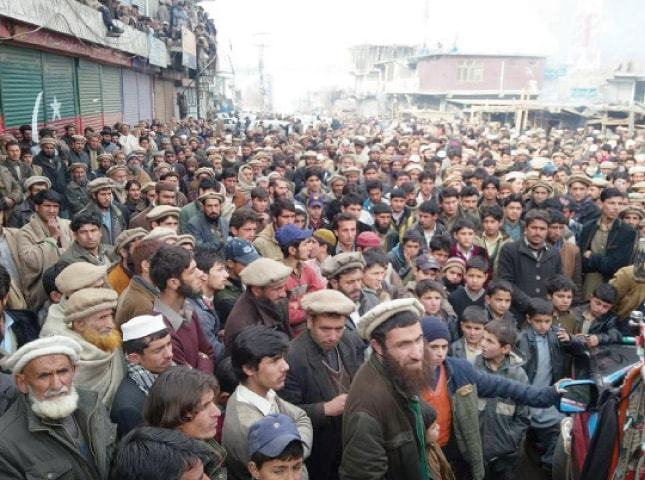 Pakistan : GB protesters end strike as government agrees to withdraw taxes
