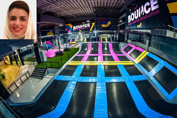 World's first female trampoline park coming up in Saudi Arabia
