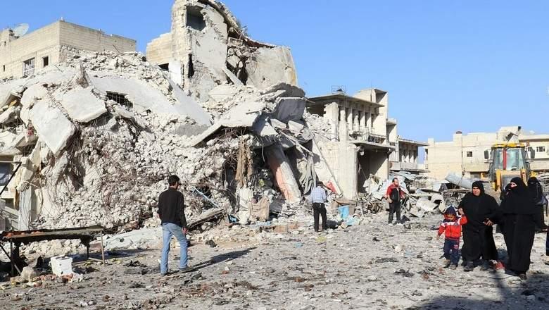 Warplanes mount fresh airstrikes in Syria