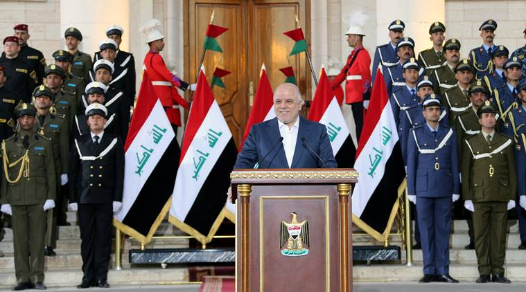 Iraq holds military parade celebrating victory over Islamic State