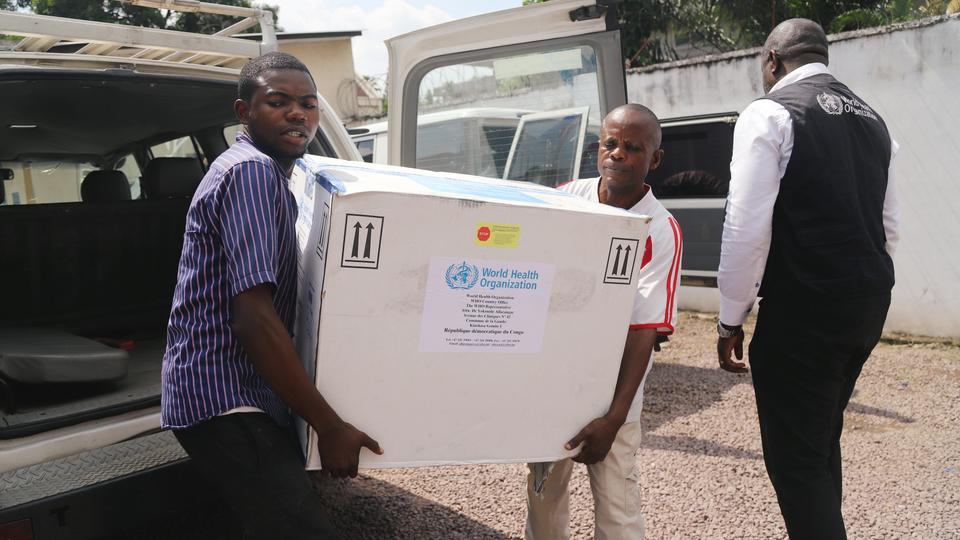 Congo to administer first Ebola vaccinations today