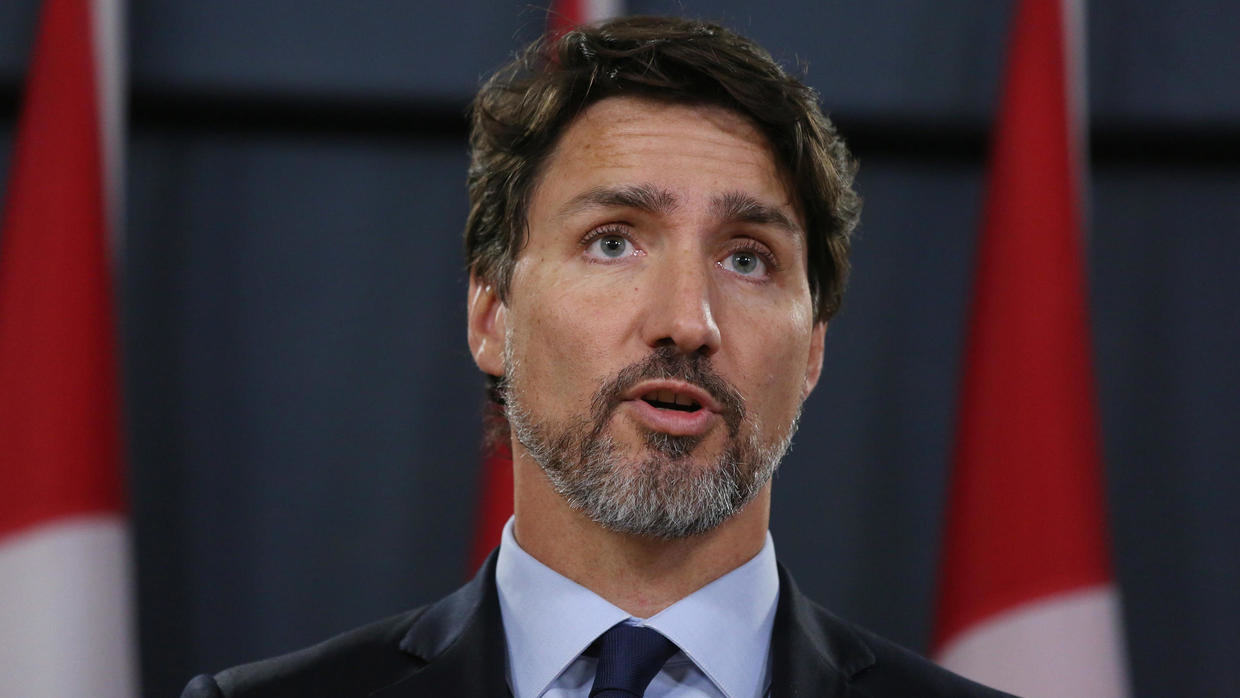 Canadian PM urges Iran to send downed jetliner
