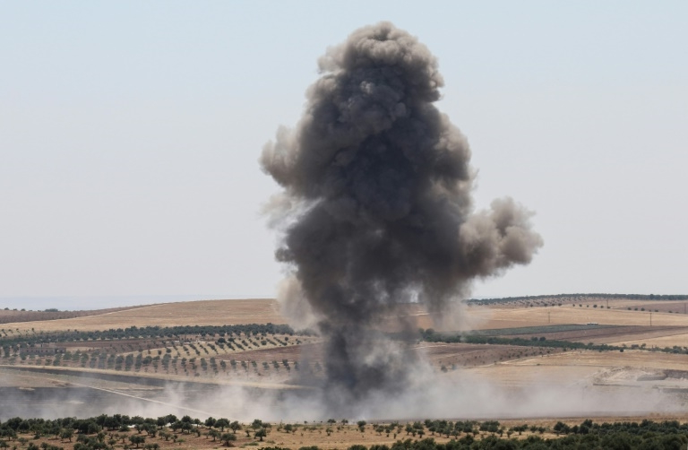 Clashes kill over 80 persons in northwest Syria