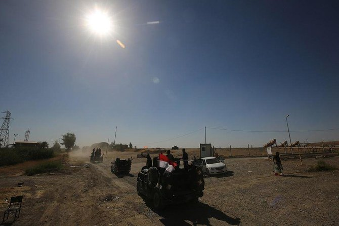 Iraqi special forces kill 14 IS militants near the northern city of Kirkuk