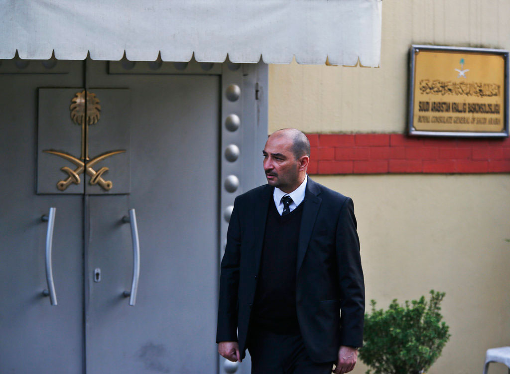 Saudi king, crown prince call slain writer Khashoggi