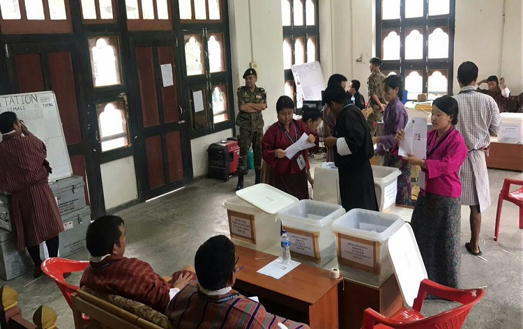 Provisional results of Bhutan National Assembly election go in favour of DNT