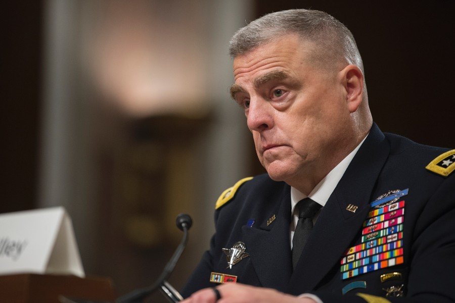 US Senate confirms General Mark Milley as next Chairman of Joint Chiefs of Staff