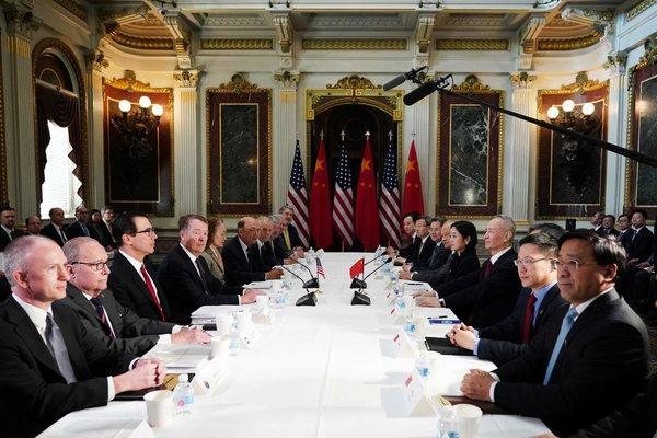 China, US resume trade talks