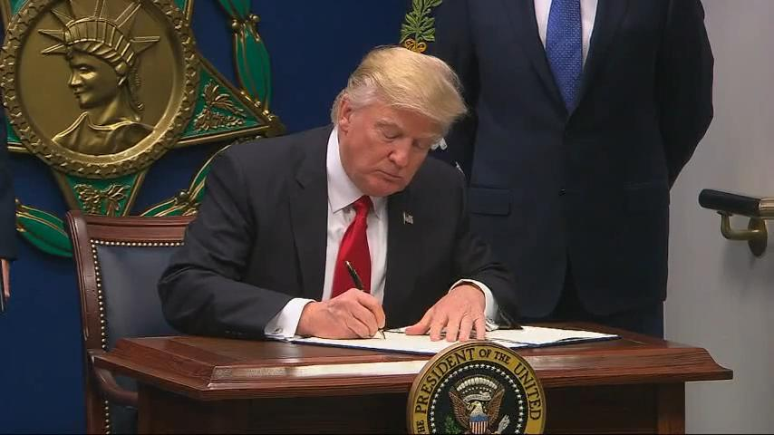 Trump signs executive order on cybersecurity