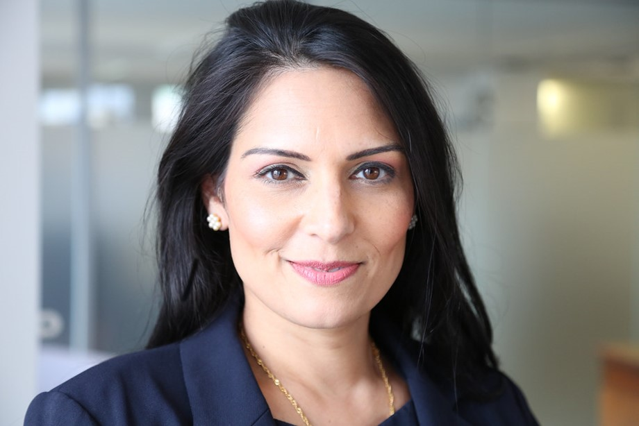 Priti Patel luanches UK
