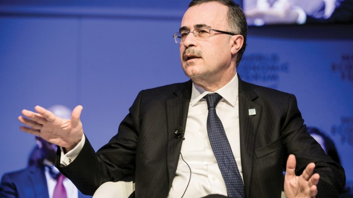 Saudi Aramco CEO sees improvement in oil market