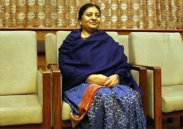 Nepal President Bidya Devi Bhandari asks to elect new PM within a week