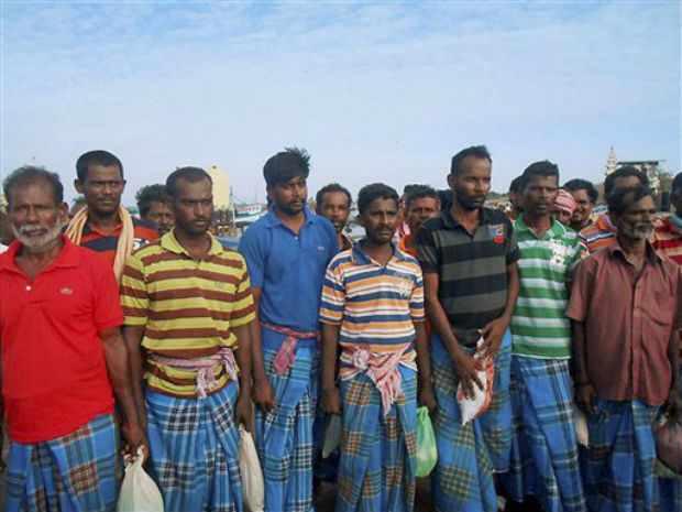 73  fishermen release  by Sri Lanka