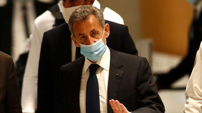 Former France President Nicolas Sarkozy convicted of corruption