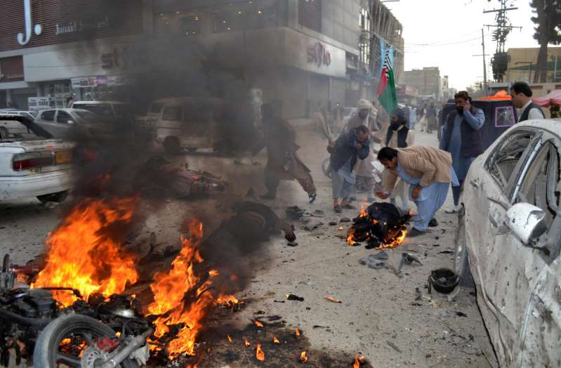 Pakistan: One killed seven injured in a hand grenade attack in Quetta