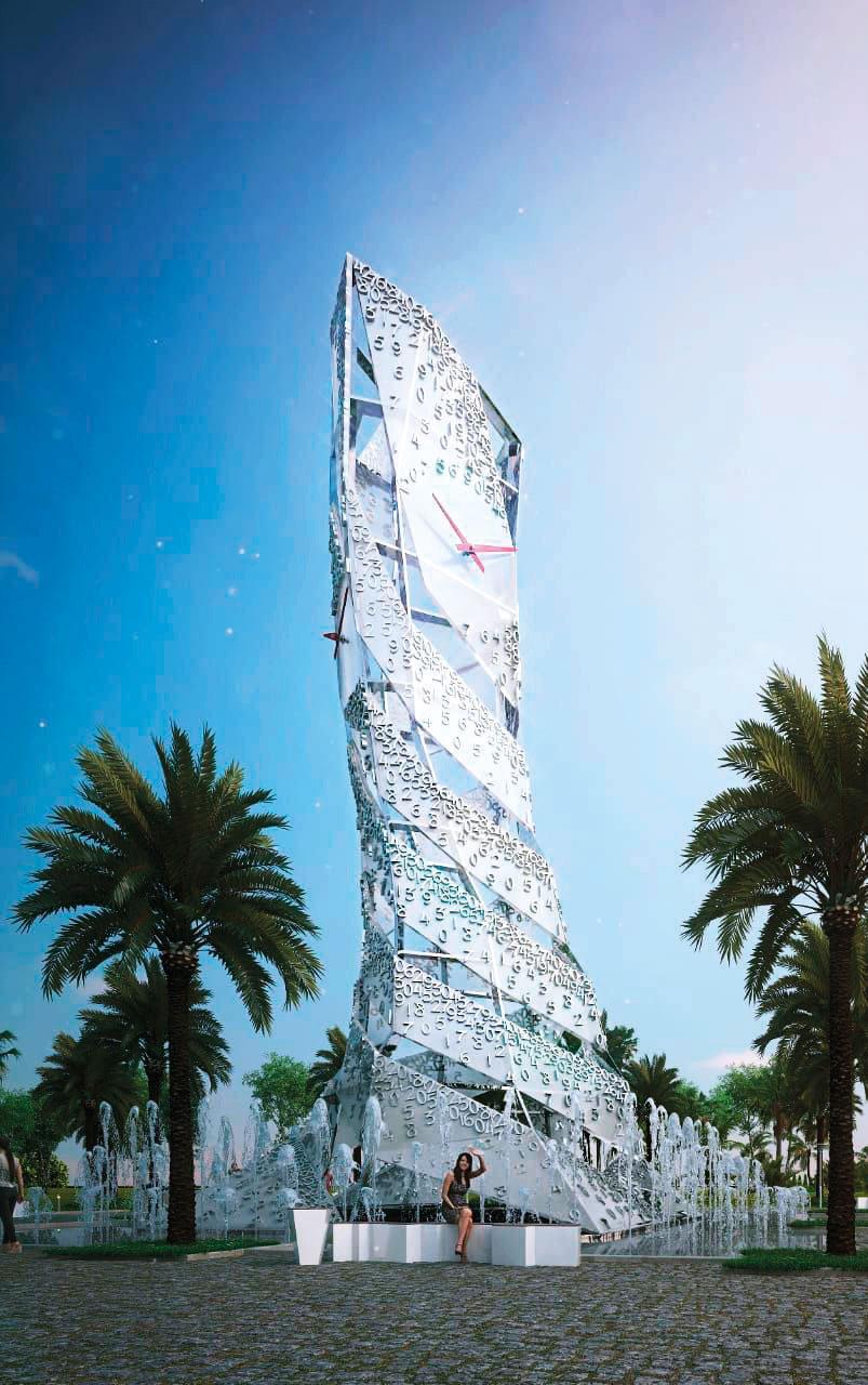 This Dubai clock is worth Dh700,000