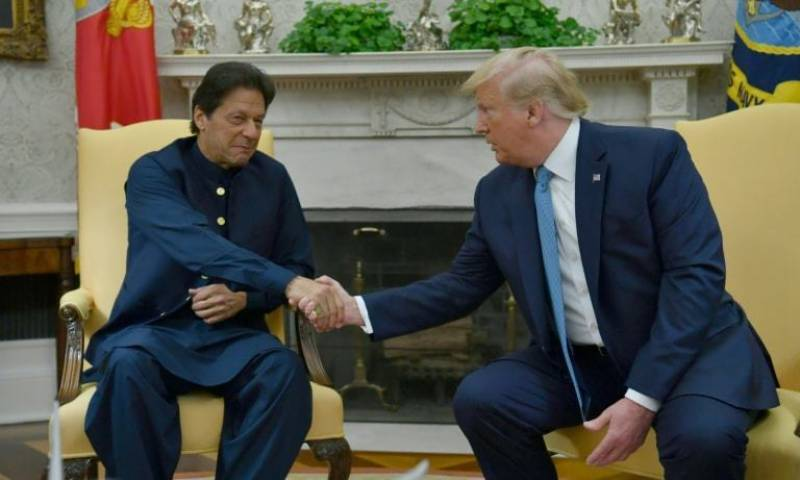 Imran Khan, Trump discuss Afghan peace process Kashmir during telephonic conversation