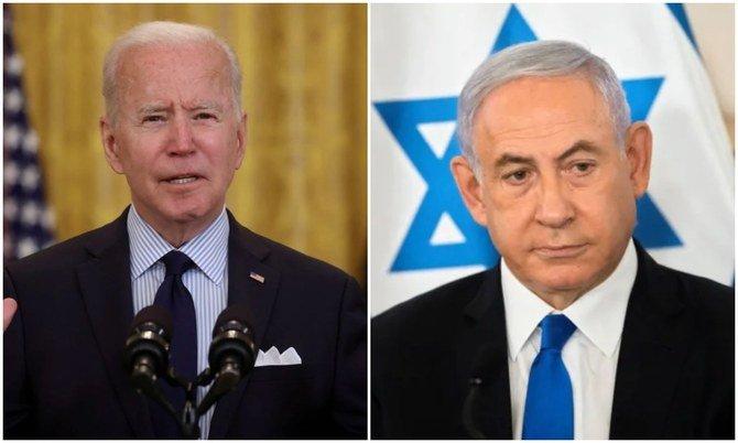 uspresidentjoebidentelephonesisraelipmnetanyahu