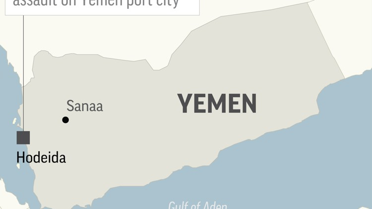 Saudi-led forces begin assault on Yemen port city of Hodeida