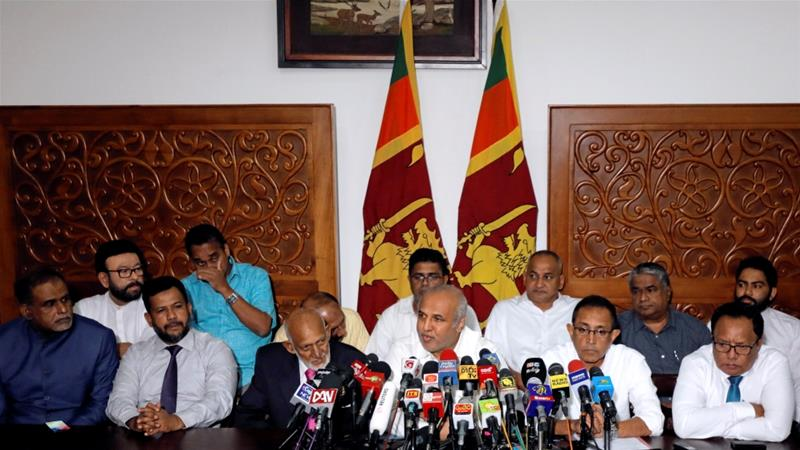 Muslim Sri Lankan Ministers who quit after Easter Sunday bombings rejoin govt