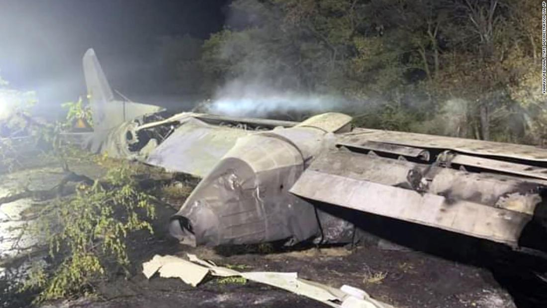 Death toll from military plane crash in Ukraine rises to 25