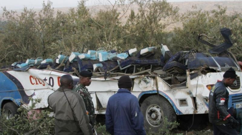 Bus-truck collision kills 26 in Kenya